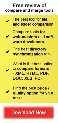 File and folder compare software - Buyer Guide