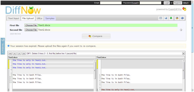 Diff Utils - file and folder compare tools